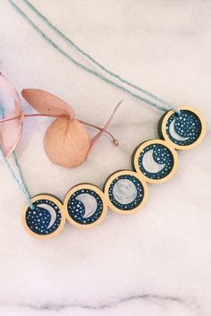 Wear every phase of the moon, right around your neck