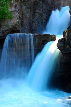 St. Mary's Falls - Glacier National Park - Montana - USA