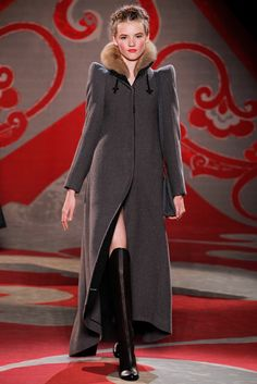 Ulyana Sergeenko Couture Fall 2012