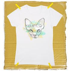 Cat tape / T-shirt unisexe T Shirt, Mens Tops, Unisex, Boutique Online Shopping, Supreme T Shirt, Tee, T Shirts