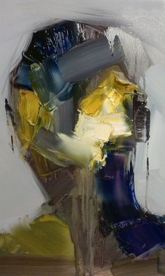 Steve Salo, Passerby - Rutland Street, 2014, (Oil 37 x 31 x 1 cm)