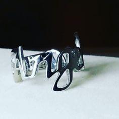 #Anello #artigianale #nome #angelica #argento #artigiano #fashion #silver #ring #name #working #handmade #goldsmith