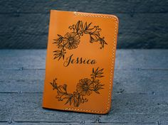 Personalize Leather Passport Holder World Map Passport Cover, Unique Jewelry, Handmade Gifts, Vintage, Etsy, Design, Kid Craft Gifts, Craft Gifts