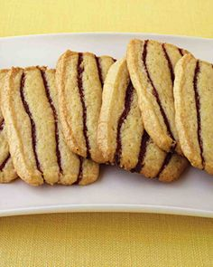 Basic Sugar Cookies: Striped Icebox Cookies