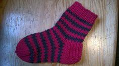socks for 3-year-old #knitting #socks