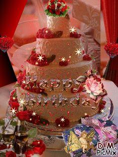 Birthday Cake Gif, Happy Birthday Cake Photo, Happy Birthday Cake Pictures, Happy Birthday Frame, Happy Birthday Candles, Happy Birthday Gifts, Happy Birthday Flowers Wishes, Animated Happy Birthday Wishes, Happy Birthday Greetings Friends