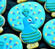 Flour Box Bakery — Peacock Cookie Video Tutorial