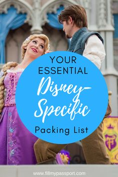 Heading to #disneyworld? Than you must check out our Disney Specific Packing List! These are things that all Disney world trips need like autograph books, flair and more! #packinglist #disneytravel #waltdisney #disneyworld #whattopack