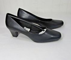 Comfort Plus Size 5 Womens Black Heel Payless Shoes 82007 04