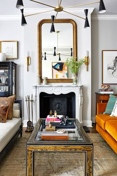 Colourful and Eclectic Pieces Bring This Historic Townhouse To Life | Livingetc My Living Room, Living Room Decor, Living Spaces, Eclectic Design, Interior Design, Modern Design, White Paneling, Cheap Home Decor, Home Decor Accessories
