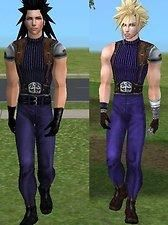 :alarm: EDIT: Angeal needs love too. So I uploaded his outfit too. Need Love, Sims, Punk, Clouds, Halloween, Outfits, Style, Fashion, Swag