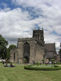 The old church in Stafford town centre where many of my ancestors were married and baptised. Stoke On Trent, Royal Air Force, Place Of Worship, Days Out, Family History, Regency, Genealogy, Childhood Memories, Barcelona Cathedral