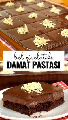 Bir Tepsi Dolusu Çikolatalı Damat Pastası (videolu) - Nefis Yemek Tarifleri