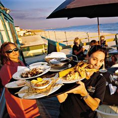 l Love this place. Right on the beach. Not to far from my house ! Top 10 Southern Seafood Dives | The Crab's Claw, Atlantic Beach, NC | SouthernLiving.com