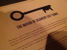 Mayor of Scaredy Cat Town, London