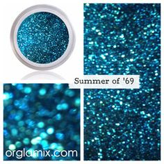 Summer of Glitter Pigment from Orglamix. Saved to Lyfeee. Shop more products from Orglamix on Wanelo. Glitter Pigment, Glitter Face, Glitter Eyeliner, Glitter Makeup, Sparkle Makeup, Glittery Nails, Glitter Bomb, Glitter Paint, Glitter Gel