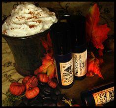 Pumpkin Spice Latte Perfume Oil Solstice Scents