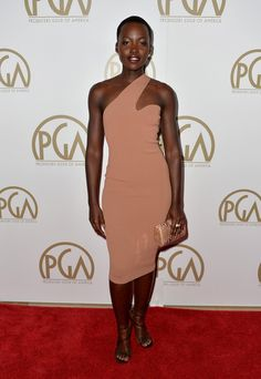 Lupita Nyong'o Photos - Arrivals at the Producers Guild of America Awards - Zimbio