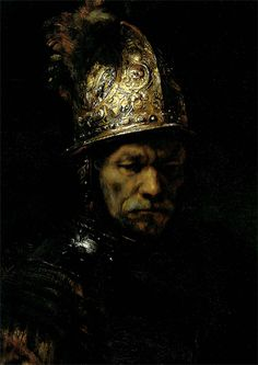 Rembrandt - The Man with the Golden Helmet (1650)