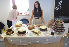 Christmas just wouldn't be Christmas without a cake stall