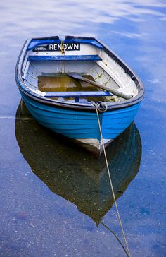 Boat, water, reflection, beauty, photo