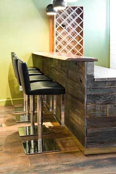 "Receive excellent ideas on ""bar cart decorating"". They are actually accessible f… Receive excellent ideas on ""bar cart decorating"". They are actually accessible for you on our website. Wood Bar Top, Wood Bar Table, Wood Bar Stools, Outdoor Wood Bar, Bar Countertops, Reclaimed Wood Bars, Salvaged Wood, Bar Cart Decor, Man Cave Home Bar"