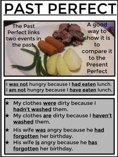 Past Perfect, Il past perfect collega due momenti avvenuti nel passato