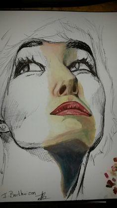 Ilandi Barkhuizen. original art, mixed media, 2014, Natasha Negovanlis