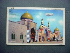 1933 Chicago Worlds Fair Oriental Village Postcard | eBay