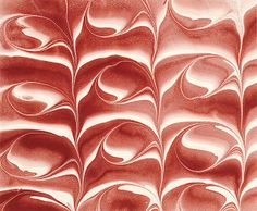 Experimental marbling by American artist and designer Dick Sheaff. via Sheaff : ephemera