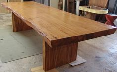 Solid, wooden dining tables. Use bench seating for kitchen or delicate woven-backed chairs for dining room.