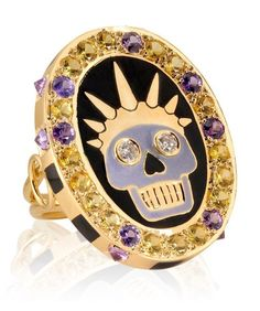 Holly Dyment diamond and sapphire ring - TownandCountryMag.com