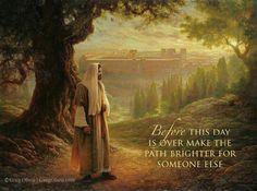 Make the path brighter