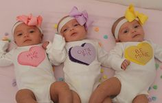 Valentine's Day Candy Heart CUSTOM/PERSONALIZED Name Onesies/Bodysuits for baby, baby shower gift