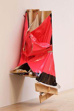 Angela de la Cruz: Super Clutter XXL (Pink and Brown) 2006 Political Art, A Level Art, Fantastic Art, Recycled Art, Abstract Sculpture, Public Art, Contemporary Paintings, Collage, Art Techniques