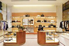 Роскошный бутик Oroton store в Сиднее, Австралия