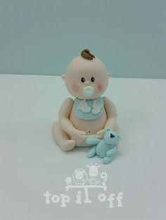 Edible-baby-boy-or-girl-customised-cake-topper-Birthday-Christening-Baby-shower