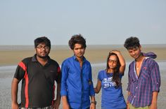 me  my frnds at Bakhali..