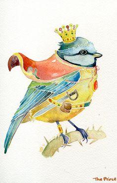 Prince bird.【阿团丸子】