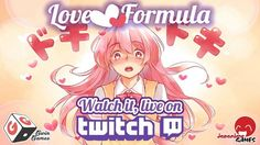 Japanime Games latest Kickstarter Game, Love Formula funds in just 3 hours and 30 minutes! The Kickstarter campaign will run from June to July Board Games, The Voice, Sci Fi, Geek Stuff, Twitch Tv, 5 Hours, Team Member, Love, Anime