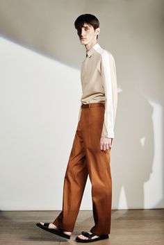 The colour of those pants - LOVE! Joseph Spring 2016 Menswear - Collection - Gallery - Style.com