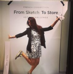 #sketchtostore style challenge finalist Style Challenge, French Connection, Sketch, Dresses With Sleeves, Store, Long Sleeve, Fashion, Sketch Drawing, Moda