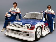 You're probably familiar with the Renault 5 Maxi Turbo - the ultimate iteration of the Group B rally 5 with its pumped-up bodywork and oth. Renault 5 Turbo, Renault Sport, Gt Turbo, Turbo Car, Elf, Lancia Delta, Old Race Cars, Subaru Forester, Top Cars