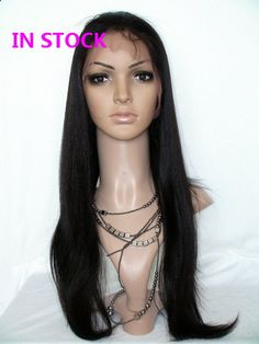 7A Glueless Full Lace Wigs Lace Front Wigs Brazilian Virgin Hair straight body loose deep wave curly For Black Women