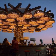 6 HB Date Night Restaurants Coffee Shop Design, Cafe Design, Outdoor Restaurant, Restaurant Bar, Exterior Design, Interior And Exterior, Date Night Restaurants, Beach Cafe, Restaurant Interior Design