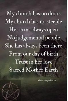 Our church is nature herself. Witchcraft Spell Books, Wiccan Spell Book, Magick Book, Wiccan Magic, Wiccan Witch, Wiccan Quotes, Pagan Beliefs, Nature Witch, Witchcraft For Beginners