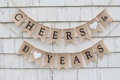 60th Anniversary Parties, Anniversary Banner, 10th Wedding Anniversary, Anniversary Ideas, Wedding Aniversary, Second Anniversary, Parents Anniversary, Anniversary Pictures, Happy Anniversary