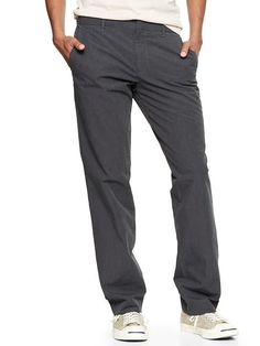 The textured tailored pant (straight fit) by Gap