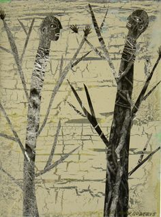 Two Trees Quarrelling, Holly Roberts