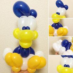 Donald Duck #donaldduck #balloonart #バルーンアート